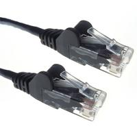 Zexum Black RJ45 Cat6 High Quality 24AWG Stranded Snagless UTP Ethernet Network LAN Patch Cable