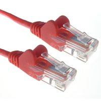 Zexum Red RJ45 Cat6 High Quality 24AWG Stranded Snagless UTP Ethernet Network LAN Patch Cable