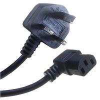 Connekt Gear IEC C13 90 Degree to UK Plug Kettle Lead