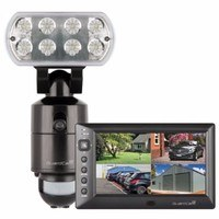 ESP Guardcam WF-M Wireless LED Floodlight CCTV Camera & Monitor