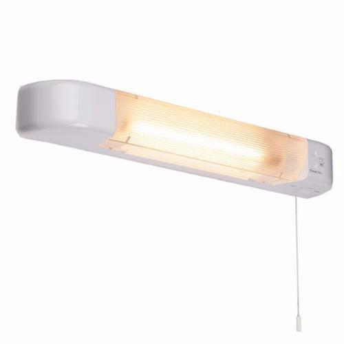 Knightsbridge white dual voltage ip20 bathroom shaver light with knightsbridge white dual voltage ip20 bathroom shaver light with shaver socket 110v240v click aloadofball Images