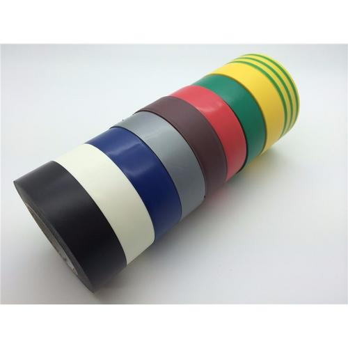 Zexum 19mm 20m Electrical Adhesive PVC Insulation Tape Flame Retardant  - Click to view a larger image