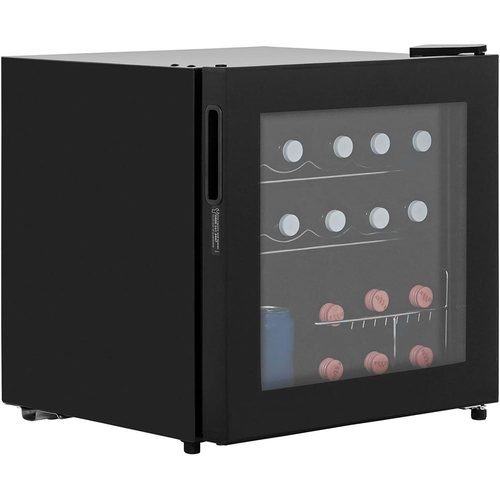 LEC Black 48 Litre Table Top Compact Beer Wine Drinks Cooler Fridge  - Click to view a larger image