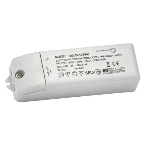 KnightsBridge 105va Transformer Electronic & Dimmable For Low Voltage Lamps 1