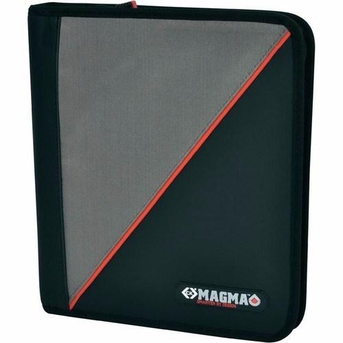 C.K Magma Contractors Zipped A4 Document Case Organiser Folder