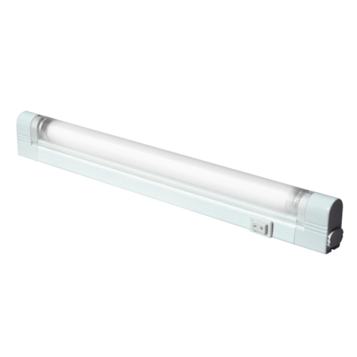 KnightsBridge T5 G5 Under Cabinet Linkable Fluorescent Fitting With Diffuser  - Click to view a larger image
