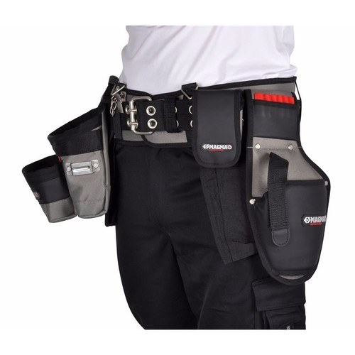 C.K Magma Builders Premium Heavy Duty Padded Toolbelt & Pouch Set  - Click to view a larger image