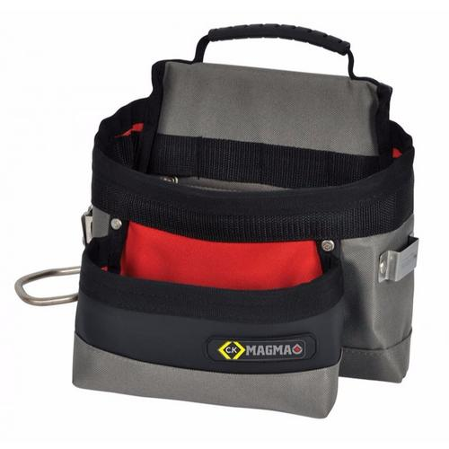 C.K Magma Weatherproof Builders Nail Tool Storage Belt Pouch  - Click to view a larger image