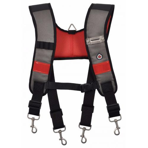 C.K Magma Heavy Duty Adjustable Padded Tool Belt Braces Storage Support  - Click to view a larger image