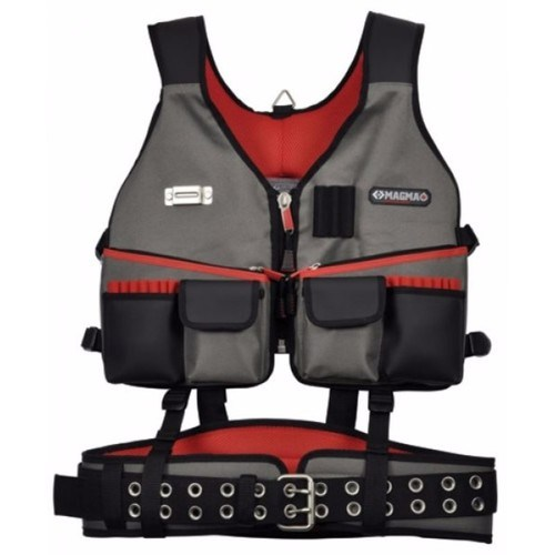 C.K Magma Builders Rig Heavy Duty Tool Holder Vest & Padded Belt  - Click to view a larger image