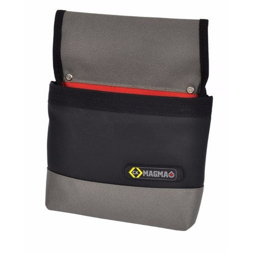 C.K Magma Weatherproof Nail Storage Pouch with Reinforced Zip Pocket for Toolbelt  - Click to view a larger image