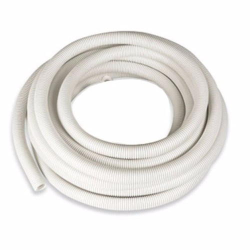Termination Technology 25mm White Flexible Electrical Corrugated Conduit Plastic PVC Pipe  - Click to view a larger image
