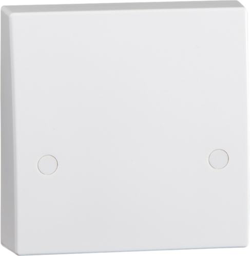 KnightsBridge 45A White 1G Cooker Cable Connection Unit Electric Wall Box
