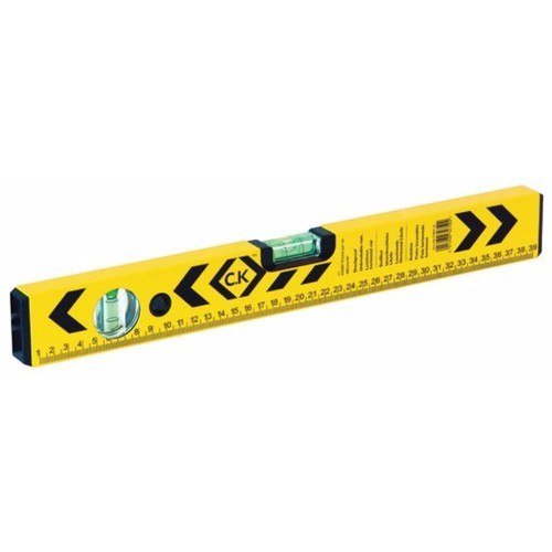 Review C K Tools Aluminium Box Section Spirit Level Measure