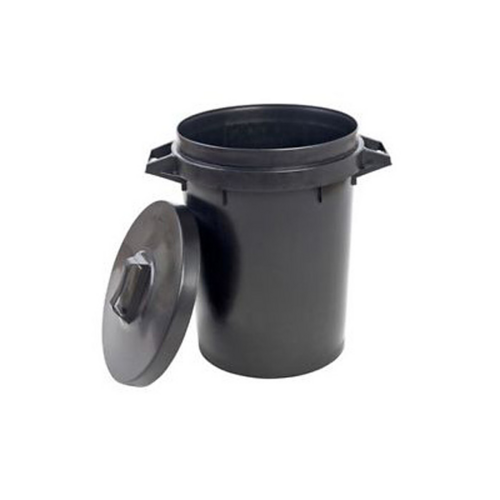 Stadium 90L Heavy Duty Round Dustbin Storage Container