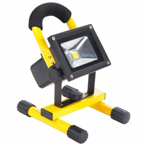 Eterna Rechargeable 10W  600 Lumens Bright IP65 LED Site Flood Light  - Click to view a larger image