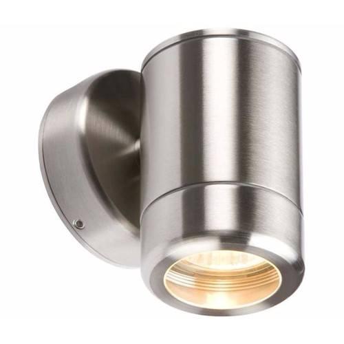 KnightsBridge Fixed IP65 Stainless Steel Indoor Outdoor Single Wall Light