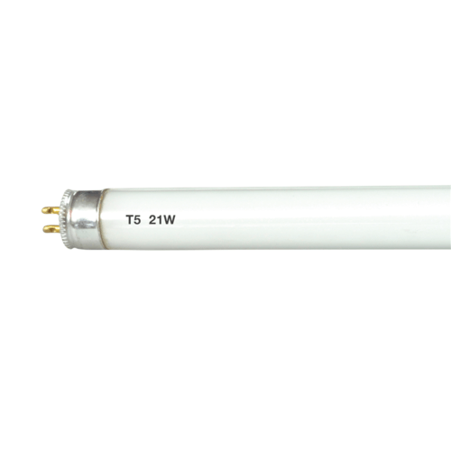 KnightsBridge T5 G5 21W Cool White 3500K Under Cabinet Fluorescent Tube Light  - Click to view a larger image