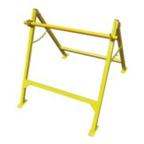 Zexum A Frame Universal Cable Drum Dispenser De-reeling Carrier Stand A Frame Universal Cable Drum Dispenser De-reeling Carrier Stand - Click to view a larger image