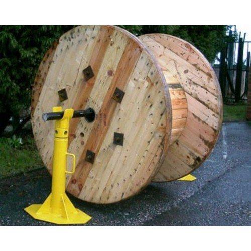 Zexum 3 Tonne Cable Jack Drum Dispenser De-reeling Stand  - Click to view a larger image