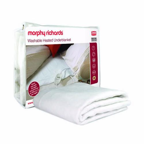 Morphy Richards Single Washable Heating Thermal Electric Bed Blanket