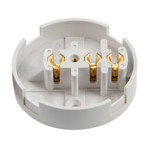 Zexum 30A 3 Terminal Plastic PVC Electrical Connection Junction Box  - Click to view a larger image