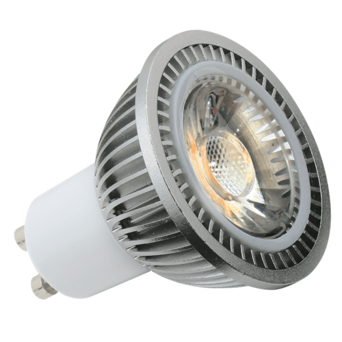KnightsBridge 5W Dimmable COB GU10 Retrofit LED Light Bulb  - Click to view a larger image