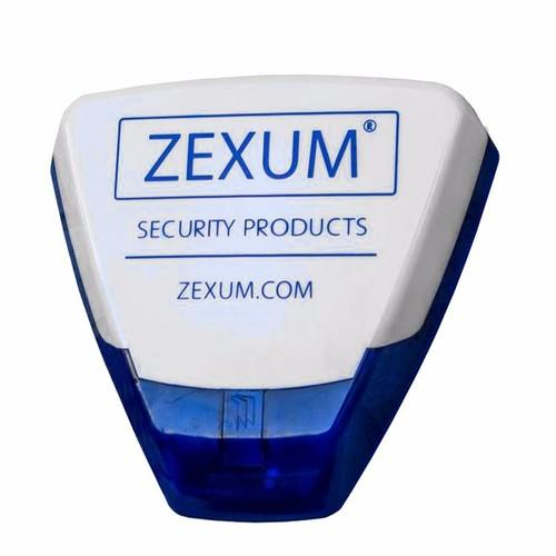 Pyronix Deltabell Dummy Blue Base & Zexum Cover Decoy Alarm Bell Box