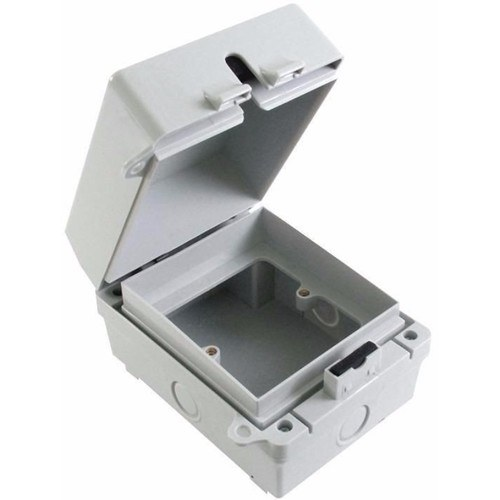 ESR 1G IP65 Weatherproof Outdoor Switch Socket Accessory Box  - Click to view a larger image