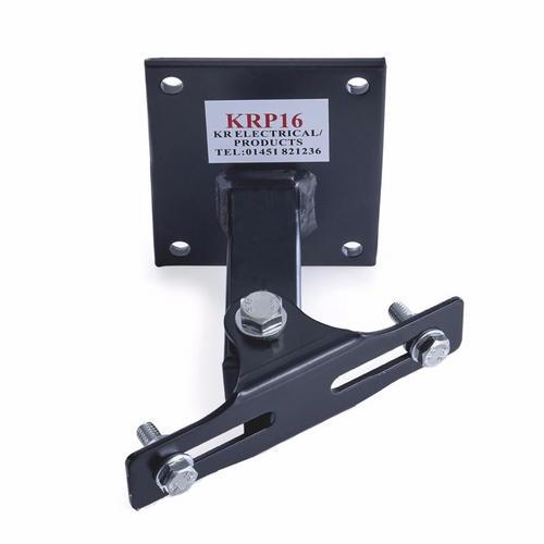 KR Adjustable Black Swivel Bracket for 20-30W LED Floodlight KRP16 Bracket - Click to view a larger image