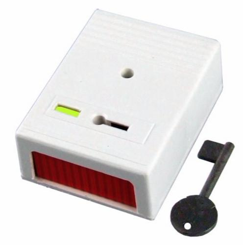 CQR Panic Button & Key Personal Attack Hold-Up Device White Finish  - Click to view a larger image