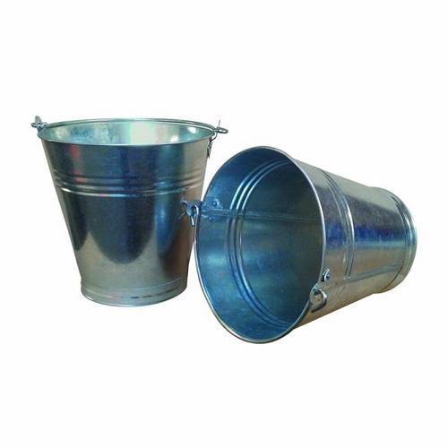 Stadium 13 Litre Heavy Duty Galvanized Steel Bucket Pail  - Click to view a larger image