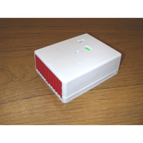 Knight Panic Button Personal Attack Alarm Latching/Non–Latching White Plastic  - Click to view a larger image