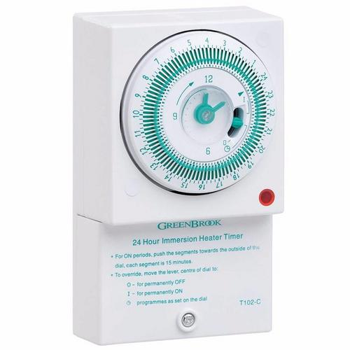 Greenbrook 24hr 96 Electro Mechanical Immersion Heater Timer  - Click to view a larger image