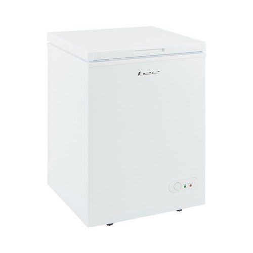 LEC 97 Litre Free Standing Small Chest Freezer  - Click to view a larger image