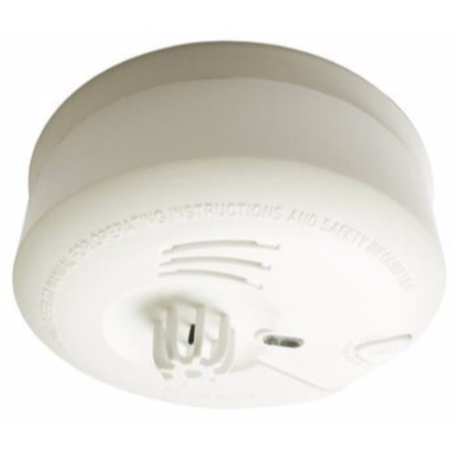 Eterna Heat Detector Fire Alarm Mains powered With Battery Backup