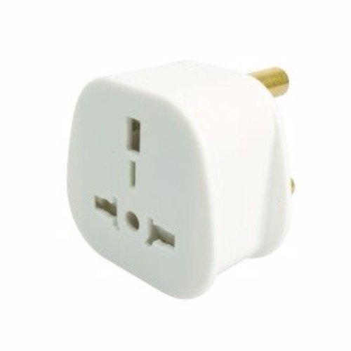 SMJ UK European to South Africa Travel Adapter Plug 15A