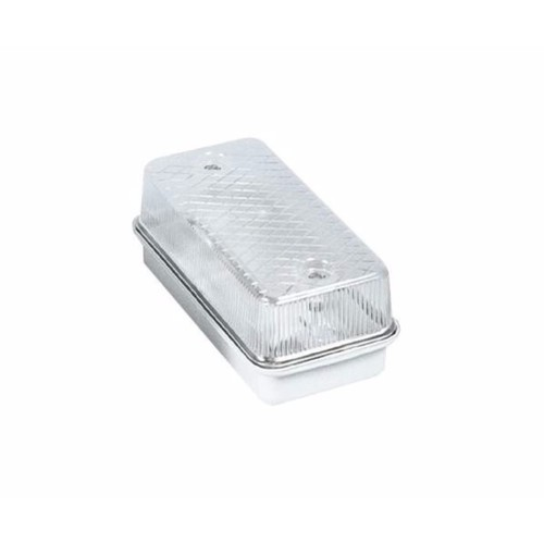 Compare prices for KnightsBridge 100W IP65 ES E27 Aluminium Base Bulkhead - Clear Cover
