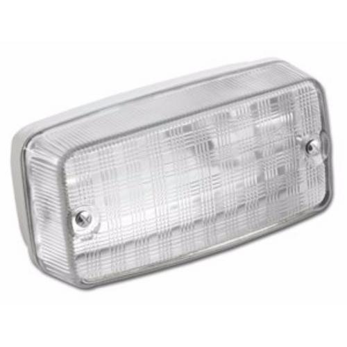 Greenbrook 100W IP65 BC B22d Aluminium Base Glass Cover Vandal Bulkhead