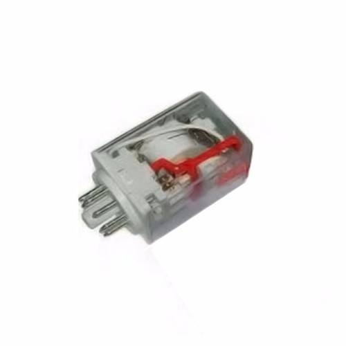 Greenbrook Plug-in 2 Pole 8 Pin 24V AC Industrial Round Terminal Relay  - Click to view a larger image