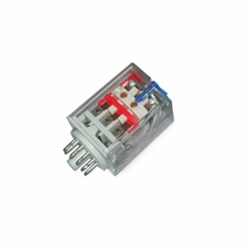 Greenbrook Plug-in 3 Pole 11 Pin 24V DC Industrial Round Terminal Relay  - Click to view a larger image