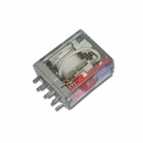 Greenbrook Plug-in 2 Pole 8 Pin 24V AC Industrial Square Terminal Relay  - Click to view a larger image