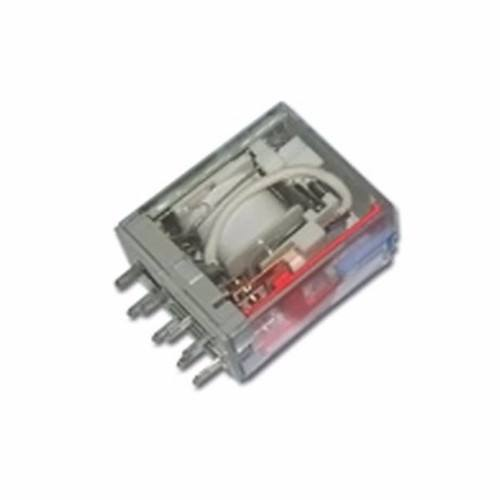 Greenbrook Plug-in 2 Pole 8 Pin 115V AC Industrial Square Terminal Relay  - Click to view a larger image