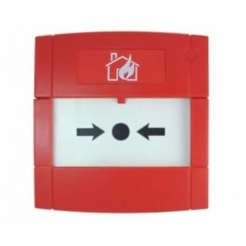 KAC Conventional Red Surface Flush Mounted Call Point  - Click to view a larger image