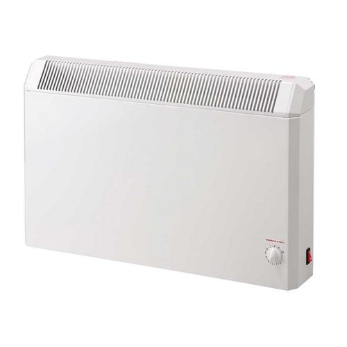 Elnur 0.75kW White Manual Electric Panel Heater with Analogue Control  - Click to view a larger image