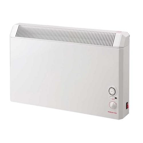 Elnur 1.25kW White Manual Electric Panel Heater with Analogue Control  - Click to view a larger image