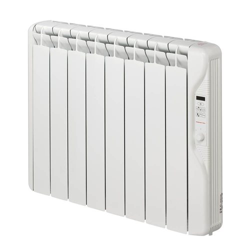 Elnur 1kW 24 Hour Digital 8 Module Oil Filled Electric Panel Radiator Heater  - Click to view a larger image