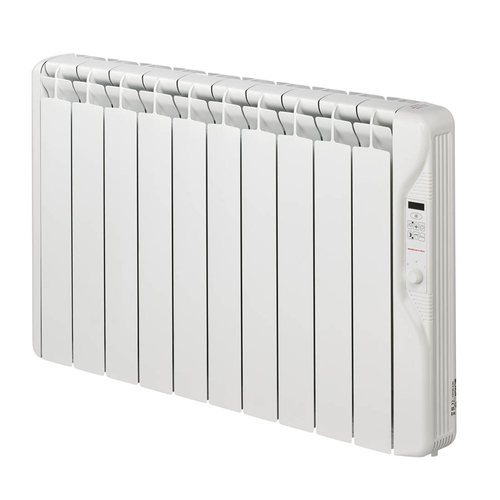 Elnur 1.25kW 24 Hour Digital 10 Module Oil Filled Electric Panel Radiator Heater  - Click to view a larger image