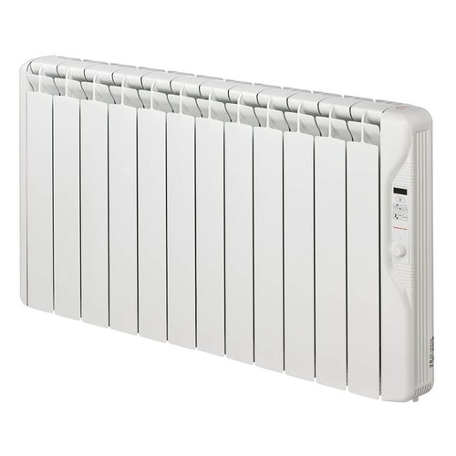 Elnur 1.5kW 24 Hour Digital 12 Module Oil Filled Electric Panel Radiator Heater  - Click to view a larger image