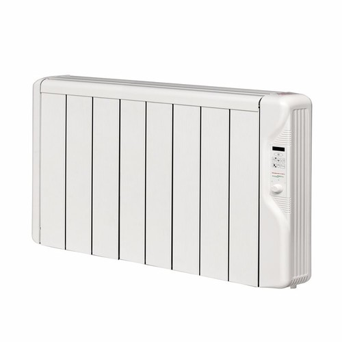 Elnur 1kW 24 Hour Digital 8 Module Oil Free Thermal Electric Panel Radiator Heater  - Click to view a larger image